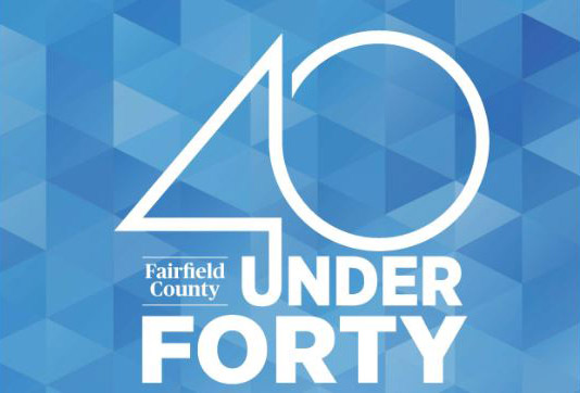 Fairfield County 40 Under 40 Logo