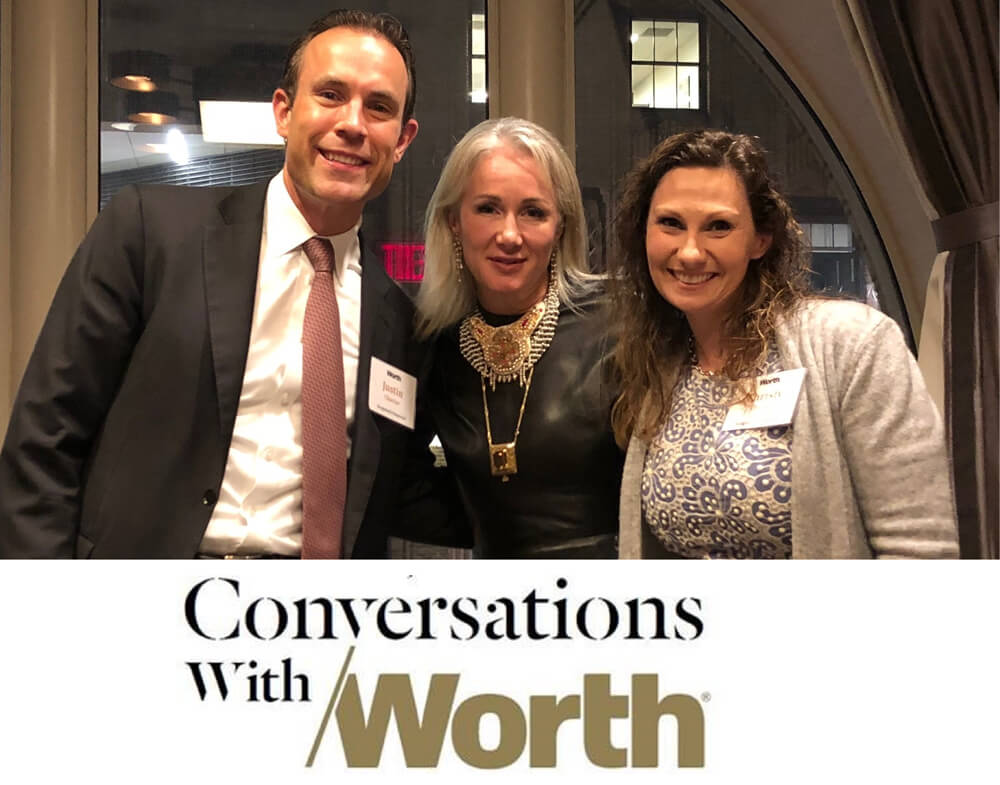 Conversations with Worth photo